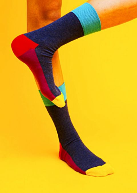 FIVE COLOUR 02 - HAPPY SOCKS (FL10 - 002)